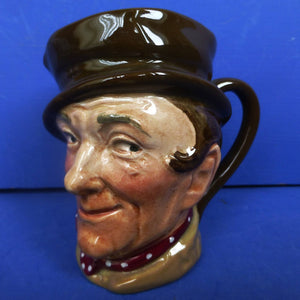 Royal Doulton Small Dickens Character Jug - Sam Weller D5841