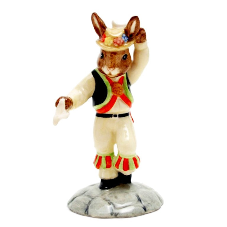 Royal Doulton Bunnykins Figurine - Morris Dancer DB204 (Boxed)