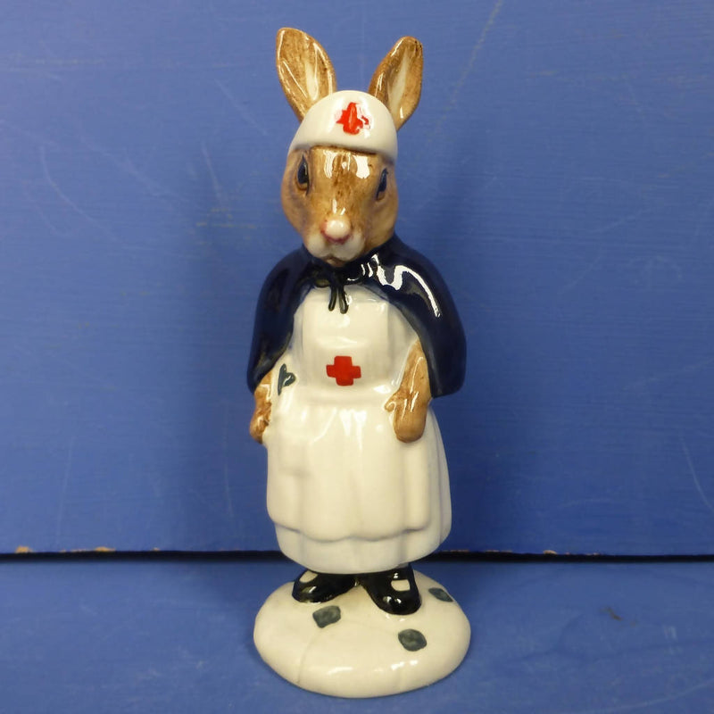 Royal Doulton Bunnykins Figurine Nurse (Red Cross) DB74A