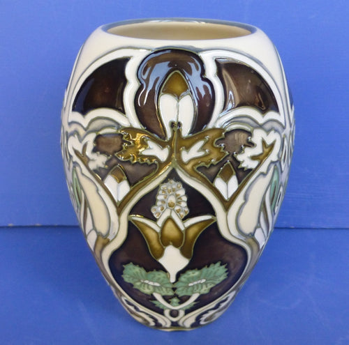Moorcroft Trial Vase - Burslem Twilight