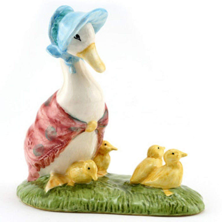 Beswick Beatrix Potter Figurine Jemima and Ducklings (Boxed)