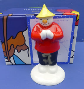 Coalport Limited Edition Snowman - Chinese Snowman (Boxed)