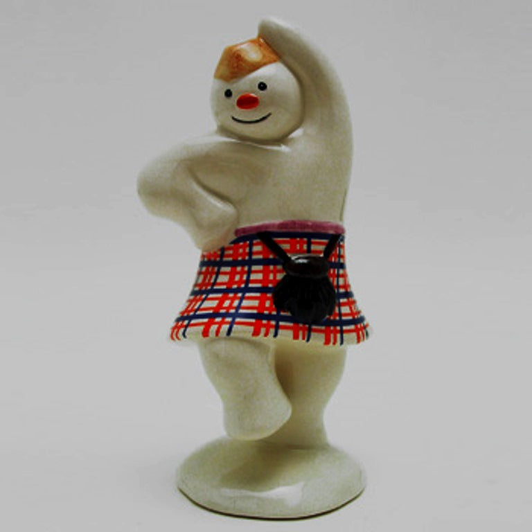 Royal Doulton Highland Snowman - DS7 (Boxed)