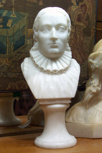 Antique Alabaster of Poet Milton