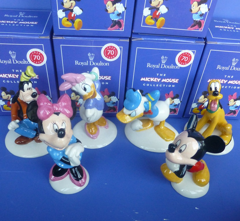 Royal Doulton 70th Anniversary Mickey Mouse Collection