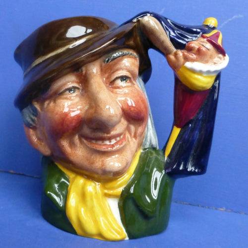 Royal Doulton Small Character Jug Punch and Judy D6593