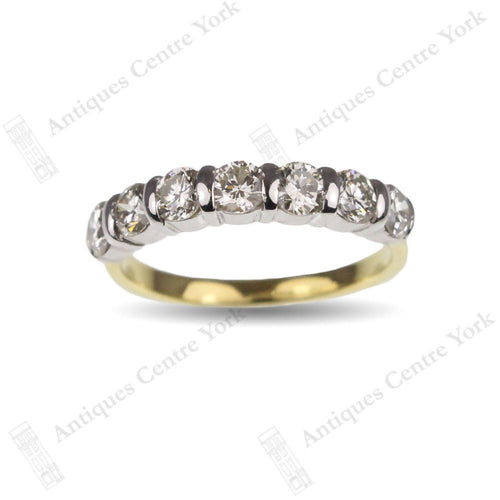 18ct Diamond 1.40cts Half Eternity Ring
