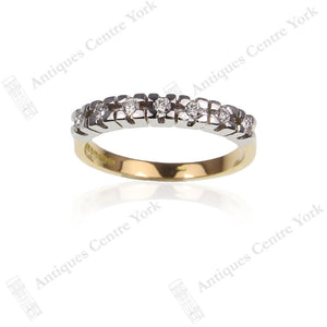 18ct Diamond Half Eternity Ring