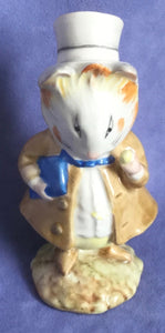 Beswick Amiable Guinea Pig Beatrix Potter Figure BP2 Gold backstamp