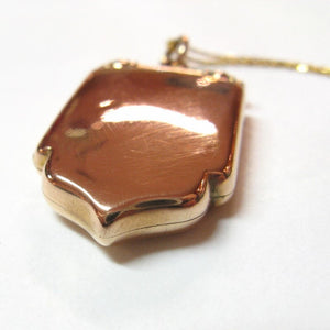 Antique Edwardian 15ct Gold Locket - 1907