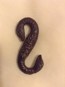 17/18th Century C Snake Buckle