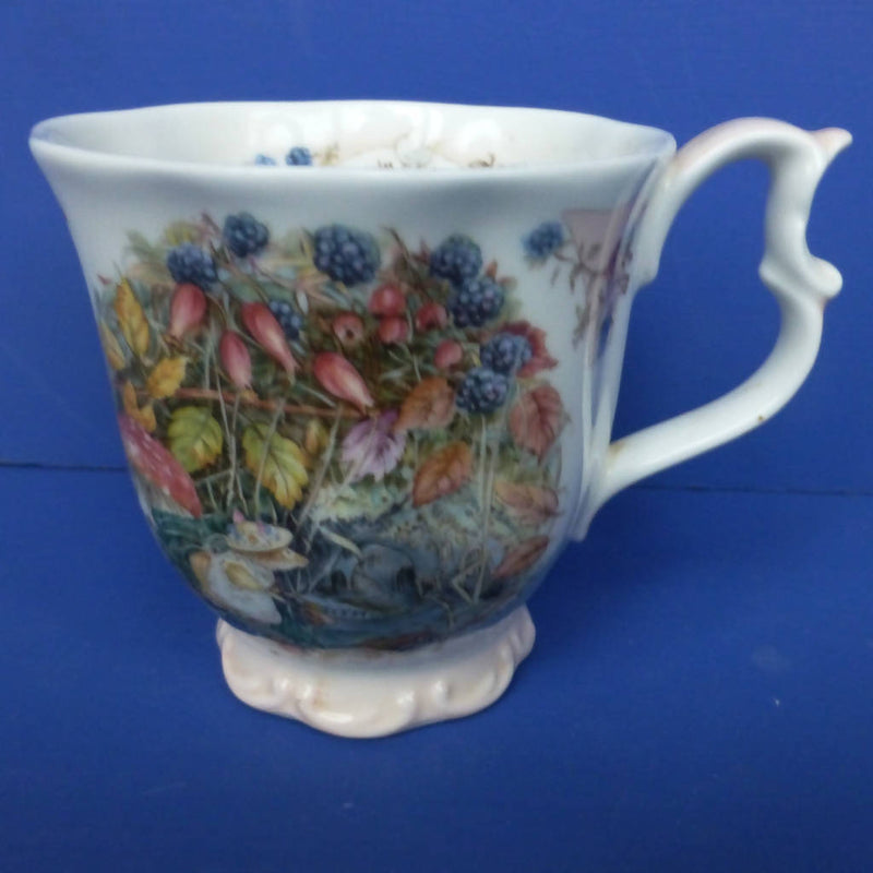 Royal Doulton Brambly Hedge Autumn Beaker by Jill Barklem