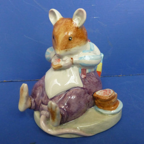 Royal Doulton Brambly Hedge Figurine mr Toadflax DBH46 (Boxed)