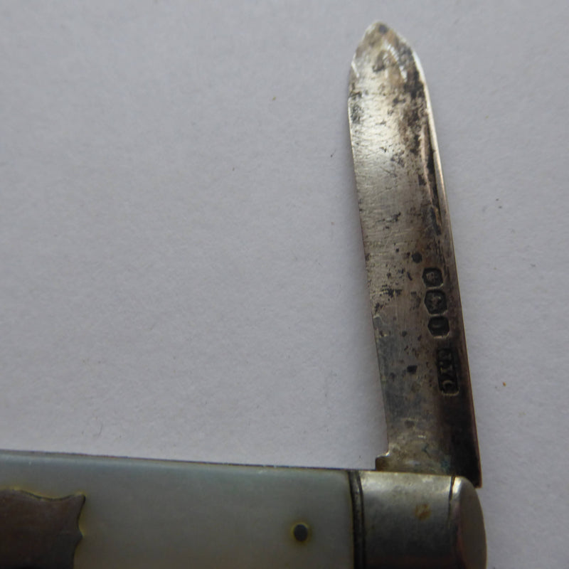 Silver and MOP Fruit Knife