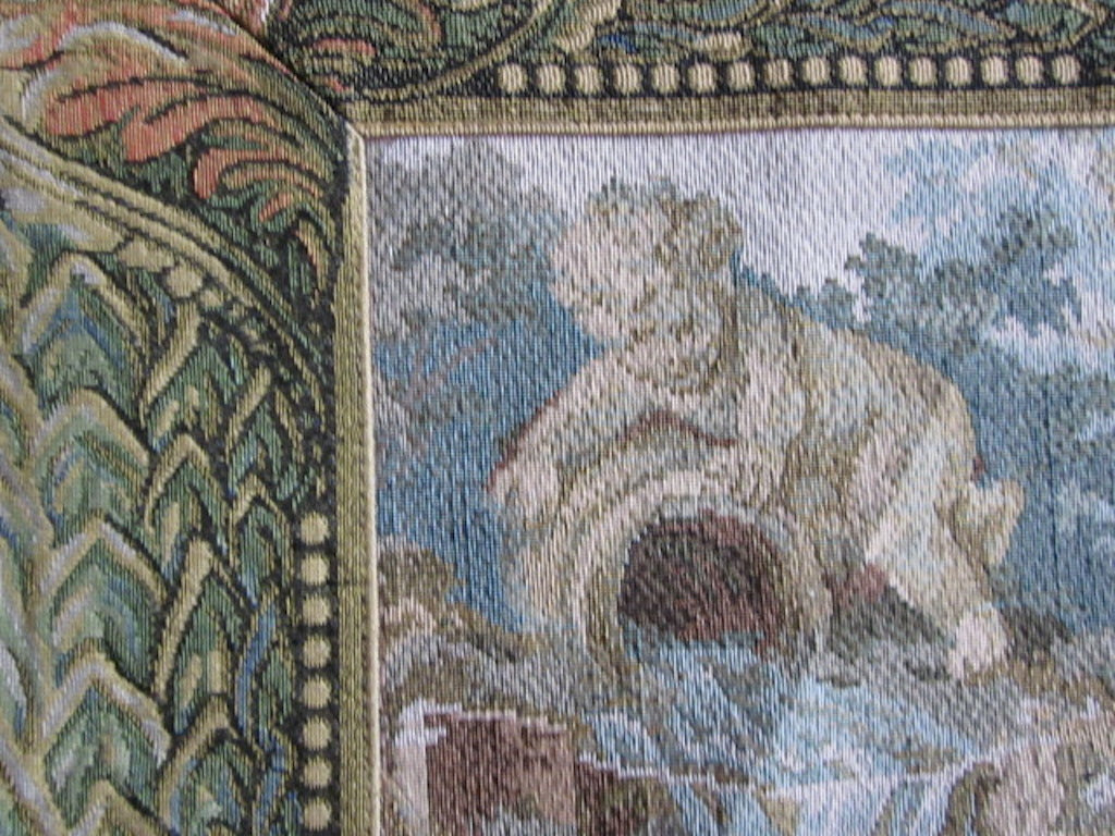 Vintage Design Pastimes Antique Style Large Tapestry Panel 74