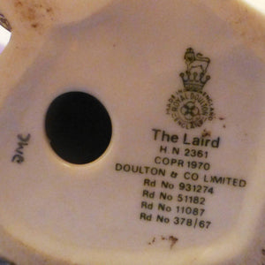 Royal Doulton Figurine - The Laird HN2361