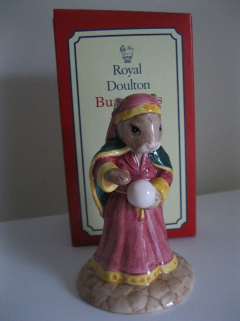 Royal Doulton Fortune Teller Bunnykins Boxed