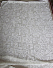 Troika- Cream Cotton Lace Curtain Panelling By The Metre- Width 56 Inches