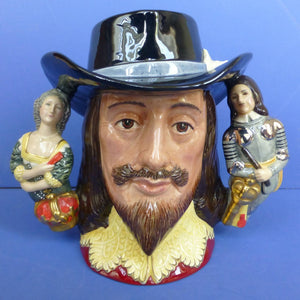 Royal Doulton Limited Edition Character Jug - King Charles I D6917