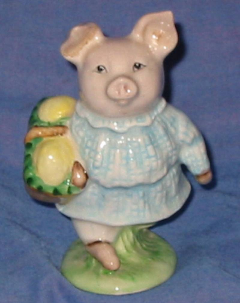 Royal Albert Beswick Beatrix Potter Little Pig Robinson.BP6A
