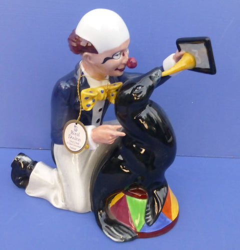 Royal Doulton Clown Figurine - Partners HN3119