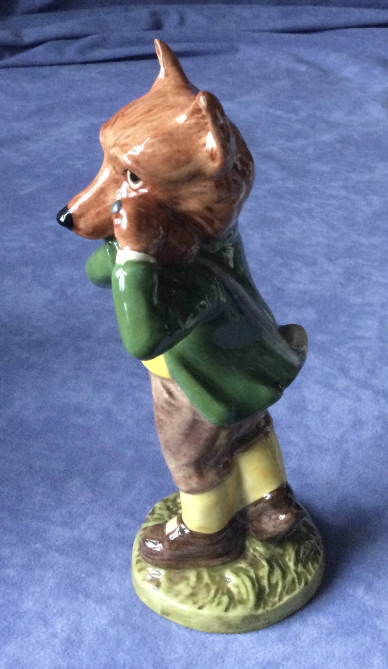 Beswick A Round with Foxy Fox Golf figurine figure Sporting Characters SC5 Ltd Edition of 1500