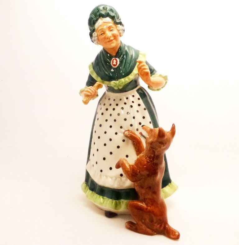 Royal Doulton Figurine - Old Mother Hubbard HN2314