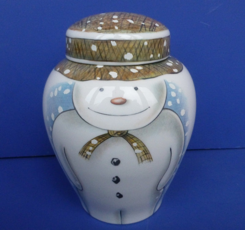Royal Doulton Large Snowman Ginger Jar