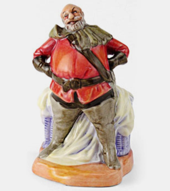 Royal Doulton Miniature Figurine - Falstaff D3236