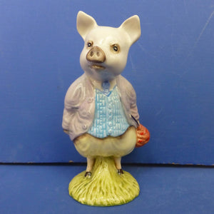 Royal Albert Beartrix Potter Figurine - Pigling Bland (Boxed)