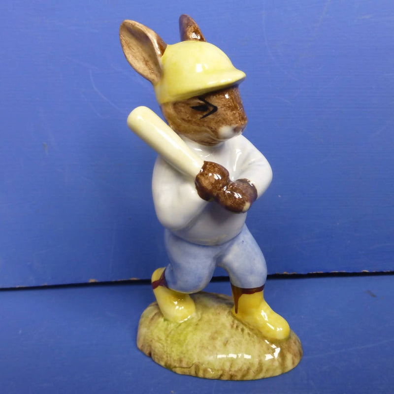 Royal Doulton Bunnykins Figurine - Home Run DB43 (Boxed)