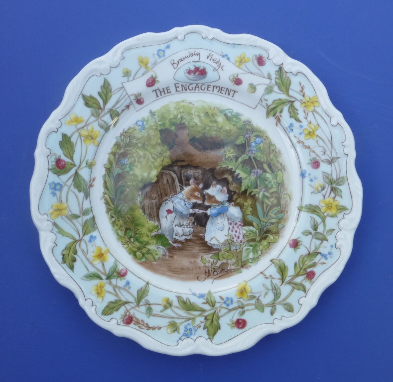 Royal Doulton Brambly Hedge Engagement Plate