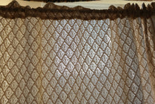Guinevere- Antique Style Cotton Lace Curtain Panel - 66 x 90 Inches long- Ready-made
