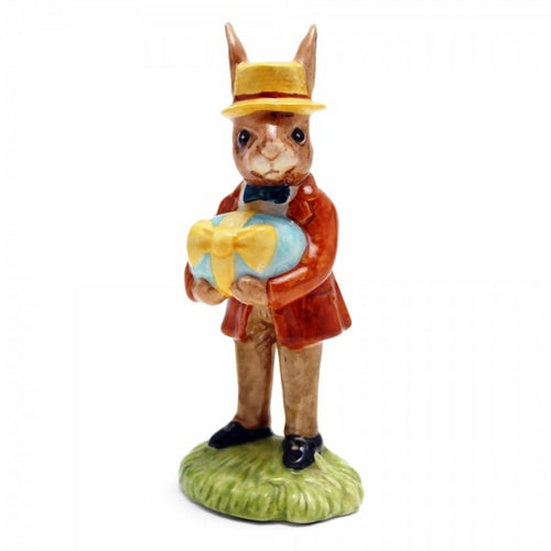 Royal Doulton Bunnykins Figurine - Mr Bunnykins At The Easter Parade DB18 (Boxed)