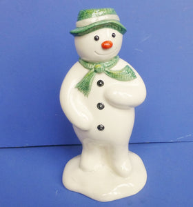 Royal Doulton Snowman Money Box Figurine DS19