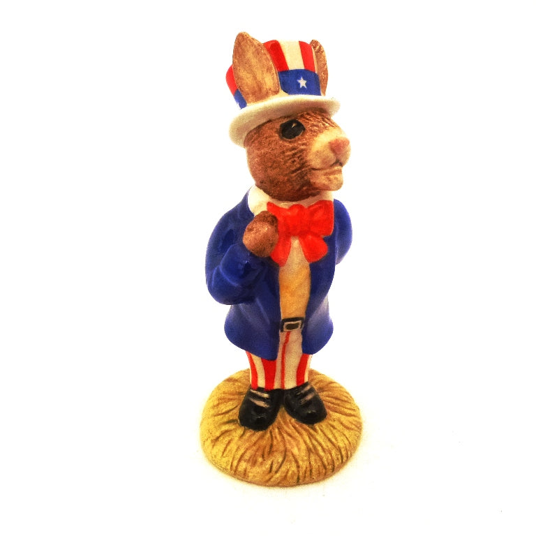 Royal Doulton Bunnykins Figurine - Uncle Sam DB50