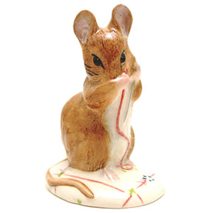 Royal Albert Beatrix Potter Figurine No More Twist (Boxed)