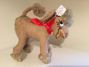 Vintage Mohair Donkey by Anker of Germany.