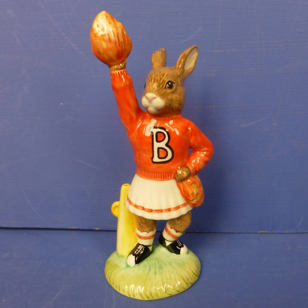 Royal Doulton Special Edition Bunnykins Figurine - Cheerleader Bunnykins DB142