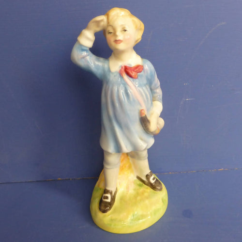 Royal Doulton Nursery Rhyme Figurine Little Boy Blue HN2062