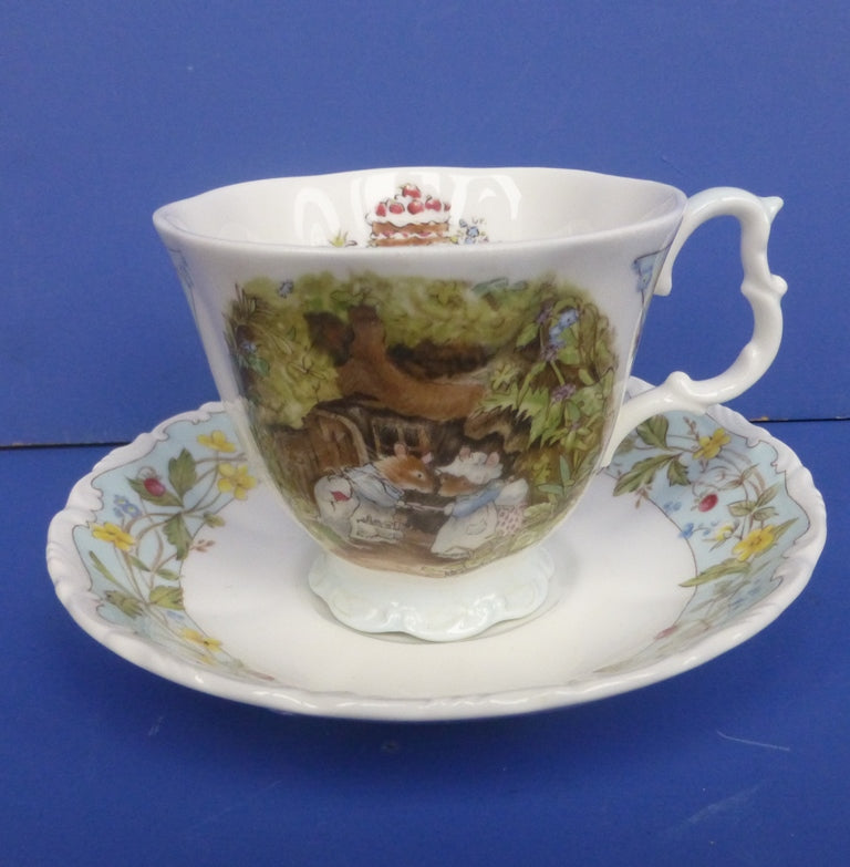 Royal Doulton Brambly Hedge Teacup and Saucer - The Engagement