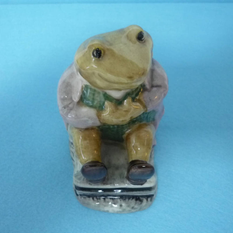 A Boxed Royal Albert Beatrix Potter Figurine Mr Jackson.