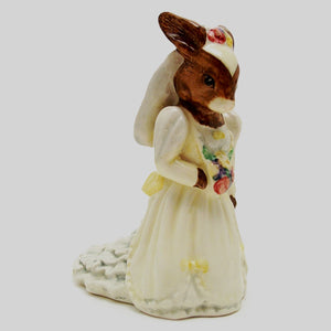 Royal Doulton Bunnykins Figurine - Bride DB101 (Boxed)