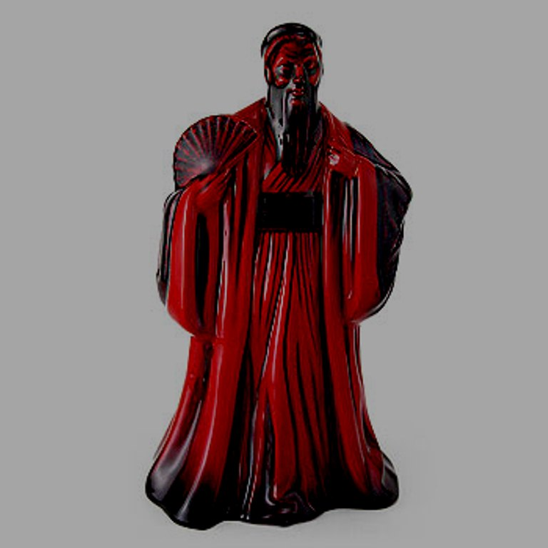 Royal Doulton Flambe Figure Confucius HN3314
