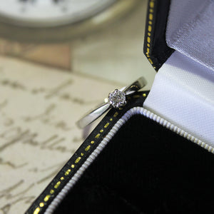 Platinum Diamond 0.15ct Solitaire