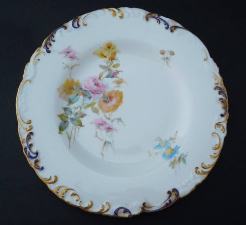 Antique Royal Crown Derby plate 4, 1896