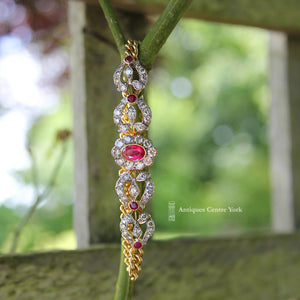 18ct Ruby & Diamond Bracelet