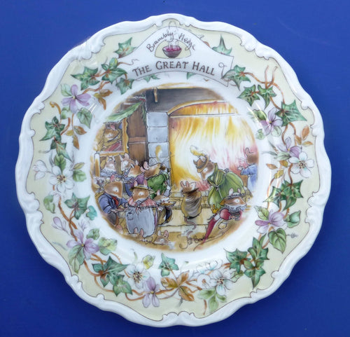 Royal Doulton Brambly Hedge Plate The Great Hall