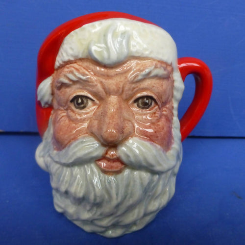 Royal Doulton Miniature Character Jug -Santa Claus (Plain Handle) D6706