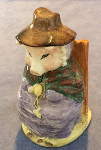 Royal Albert Beatrix Potter Figure And This Pig Had None BP6